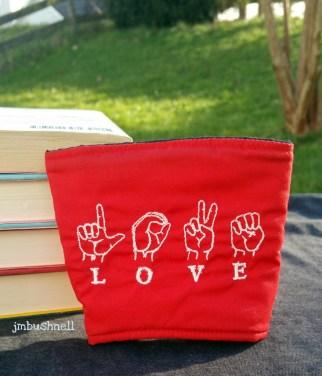 Sign Language Love Cozy to Go