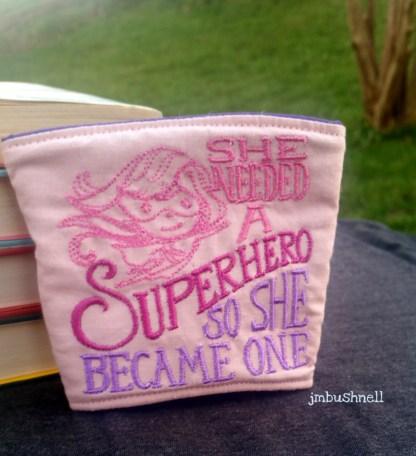 She Needed a Superhero Cozy to Go