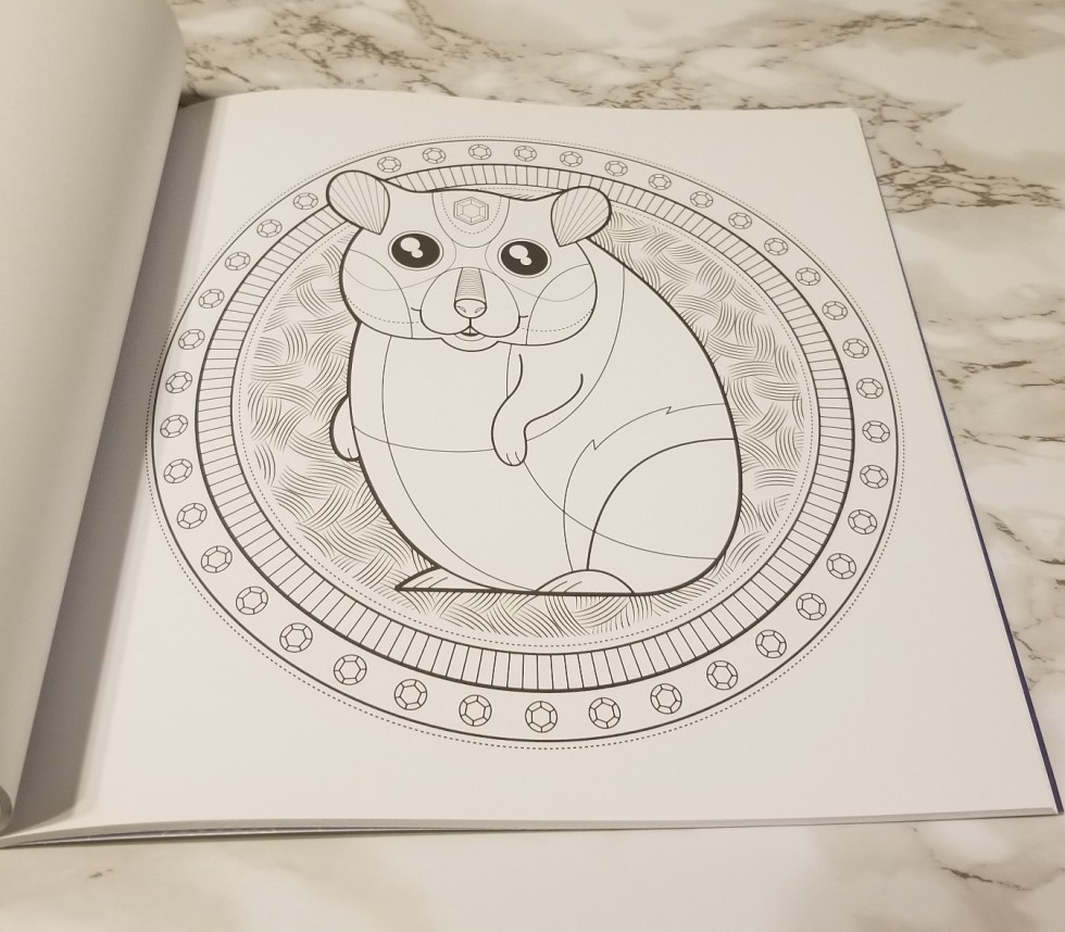Hamster to color