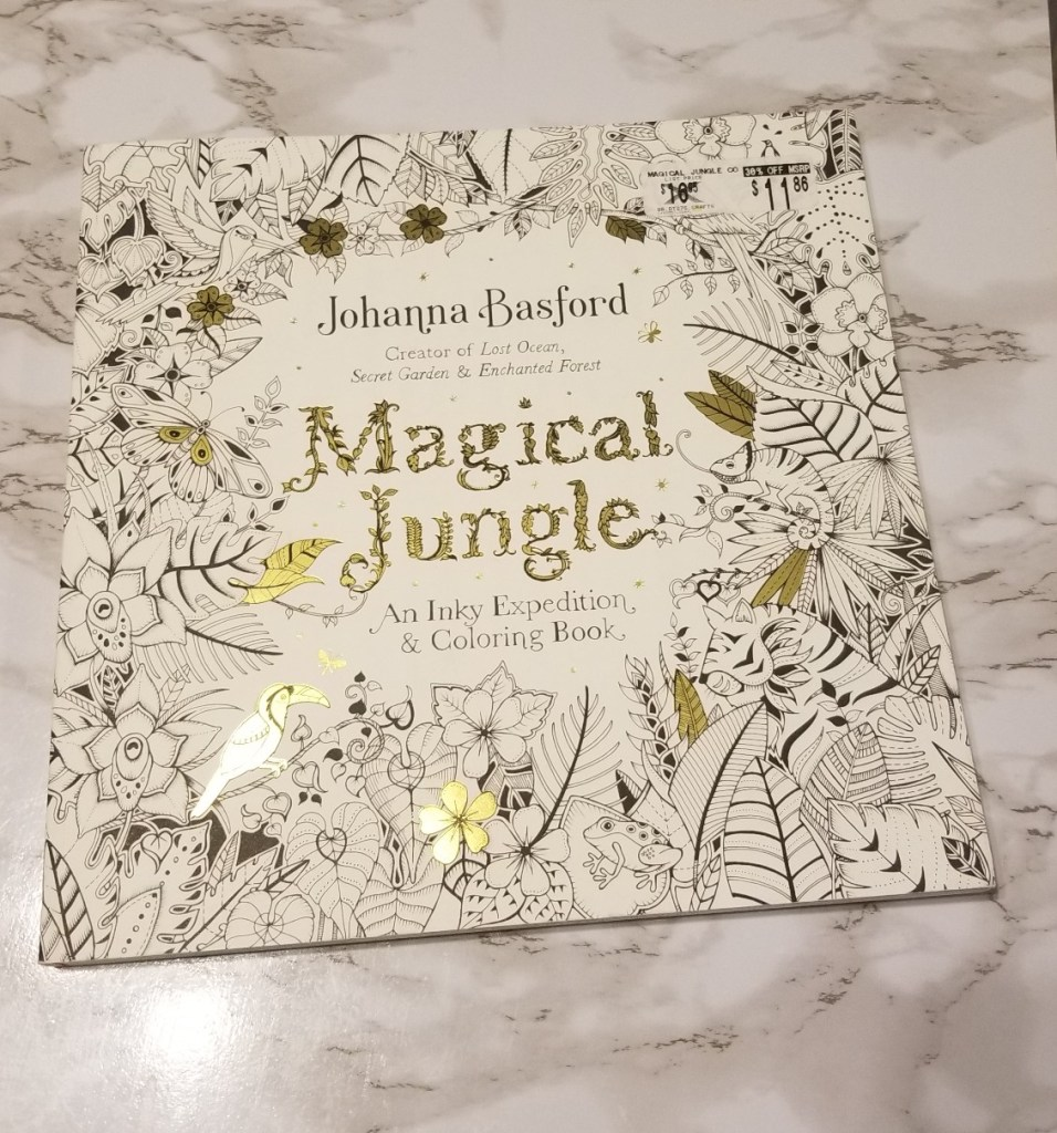 Magical Jungle by Johanna Basford Coloring Book