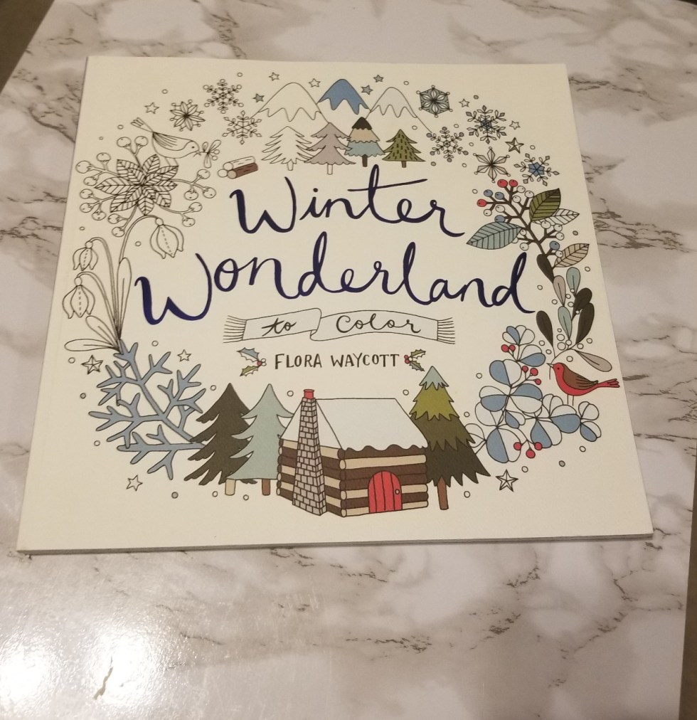 Winter Wonderland to color by Flora Waycott