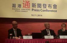 香港與內地證監會昨在港股開市前聯合公布,滬港通將於下周一正式開通。