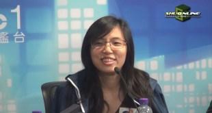 鄺葆賢否認青年新政是建制派。(影片截圖)