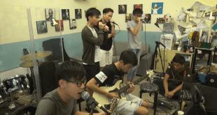 Boyz' Reborn是一枝由中學生組成的樂隊,最近更創作一首歌曲紀念六四。(影片截圖)