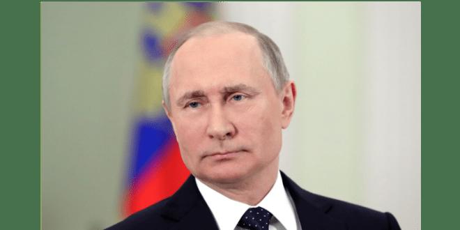 普京在換屆選舉中得票76.63%,成功連任總統。(普京官方Twitter圖片)