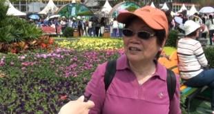 香港花卉展覽今日在維園正式開幕,吸引了不少市民入場觀賞。(影片截圖)