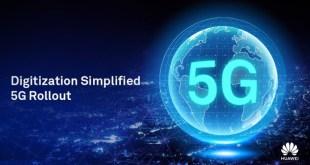 歐盟委員會周二(26日)公布5G通訊技術的安全指引,表示由成員國自行決定華為在5G網絡建設上的參與度。(Huawei Technologies的Twitter圖片)
