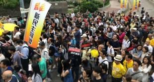 民間人權陣線今(28日)下午4時舉行遊行,反對政府修訂《逃犯條例》,要求政府回應市民憂慮。(資料圖片)