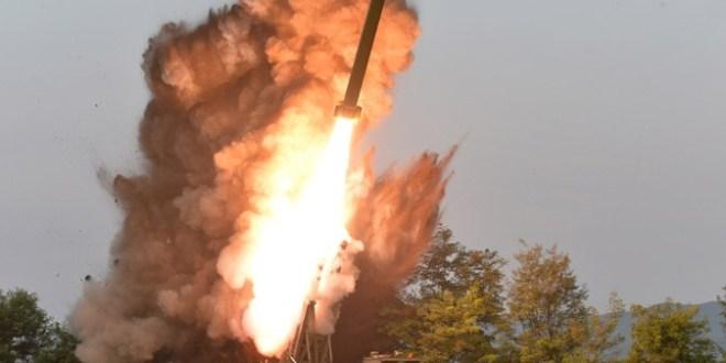 北韓核談判前試射「北極星3型」潛射彈道導彈