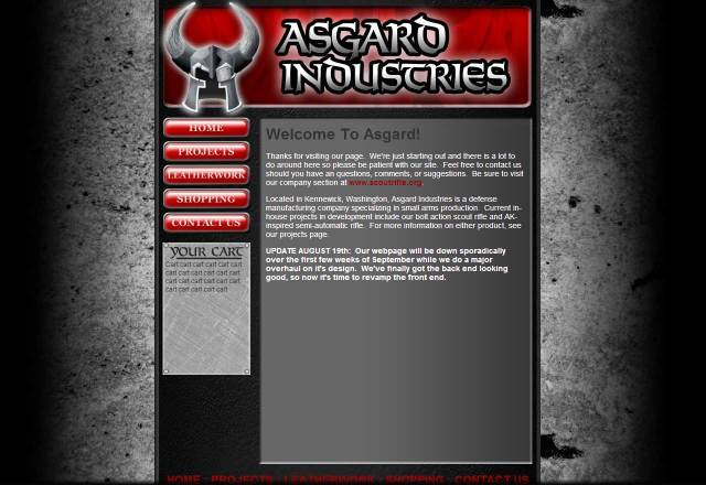 Asgard Industries UI