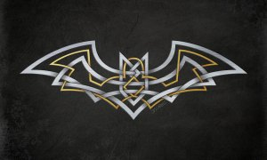 A Batman/Celtic Knot mashup