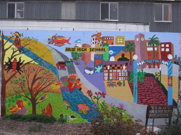 Arise High School Mural Jmac