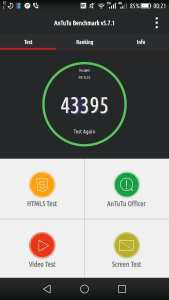 Honor 6 Plus AnTuTu Score