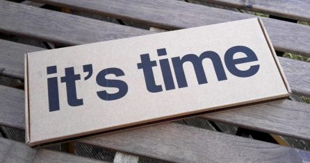 Pebble Time box