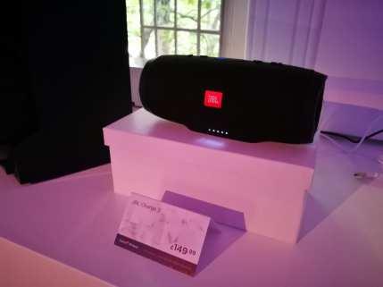 JBL Charge 3 speaker - £149.99