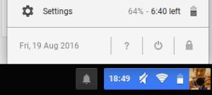 Screenshot battery life