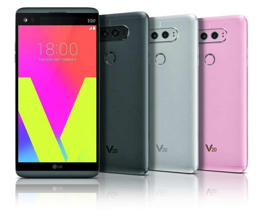 LG V20 colour spread