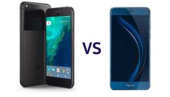 Pixel XL vs Honor 8