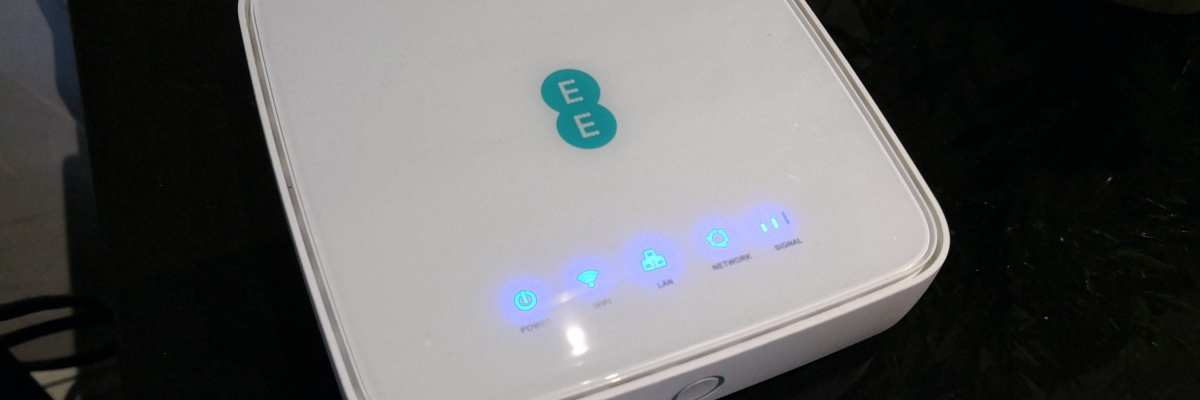 Review: EE 4GEE Home Router, with Professional Antenna