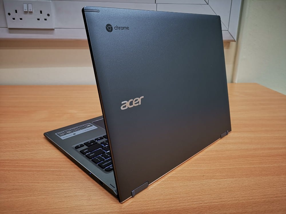 Acer Chromebook 13 in open position