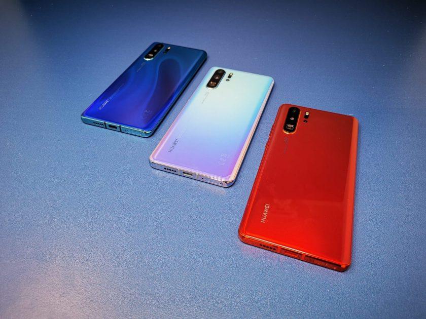 Huawei P30 Pro colours