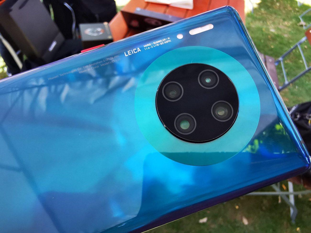 Mate 30 Pro camera