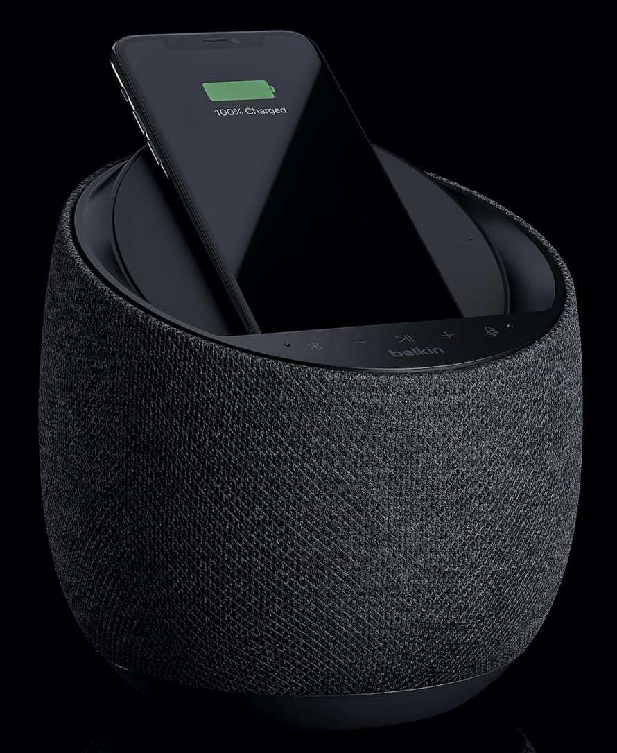 Soundform Elite smart speaker with wireless charging