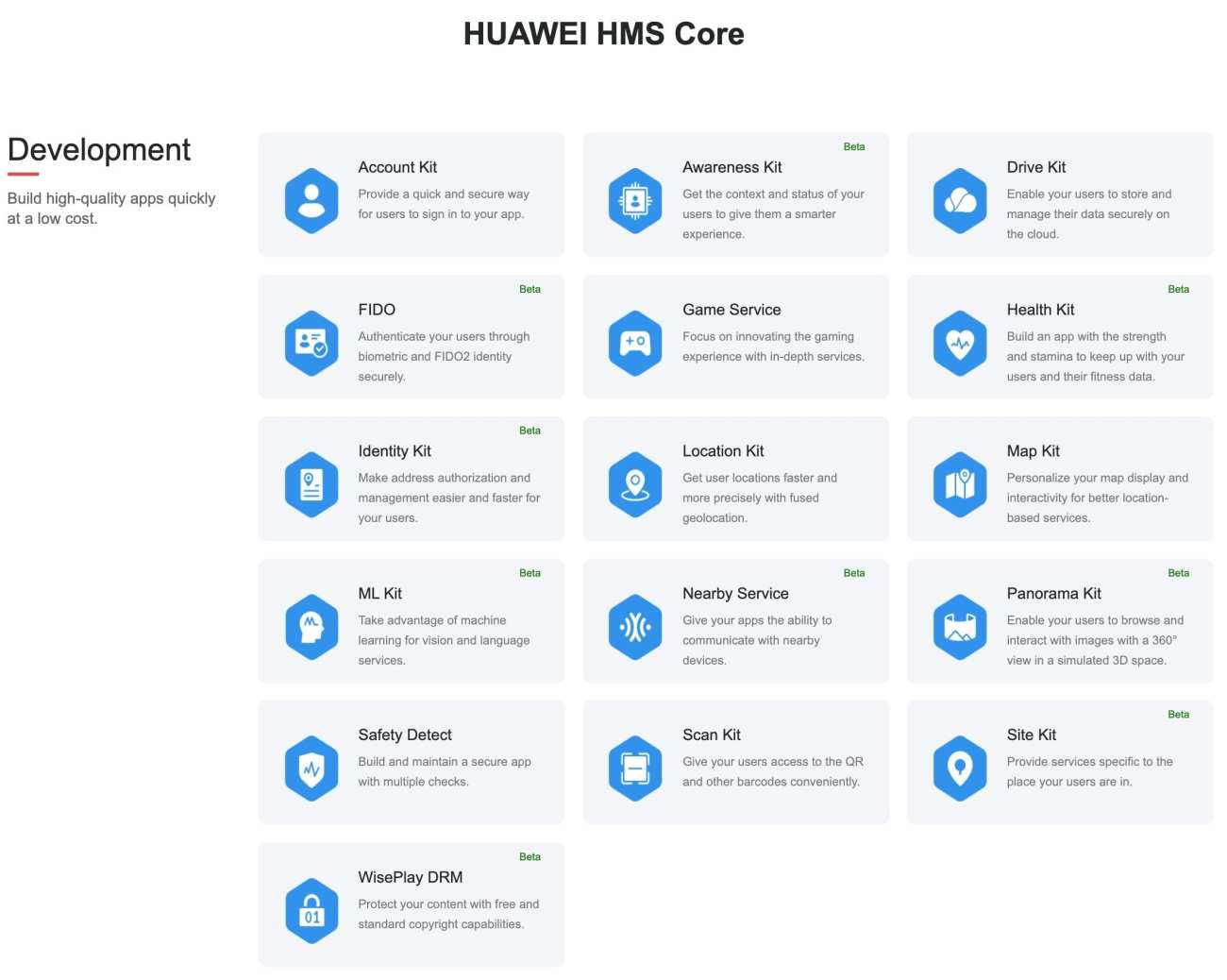 Huawei Mobile Services - HMS Core