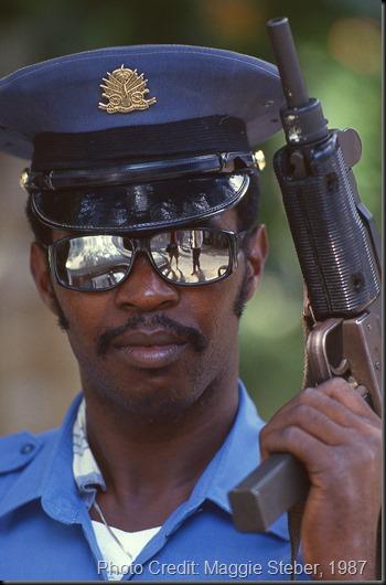 Military Policeman, Haiti 1987