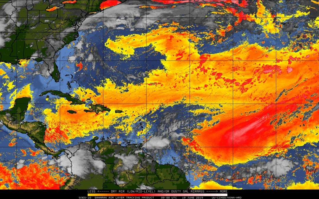 The  Metservice is advising that a massive plume of dust from the Sahara Desert currently across the Caribbean is expected to affect Jamaica today