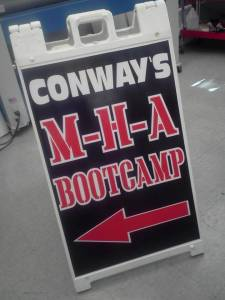 Conways MHA Bootcamp