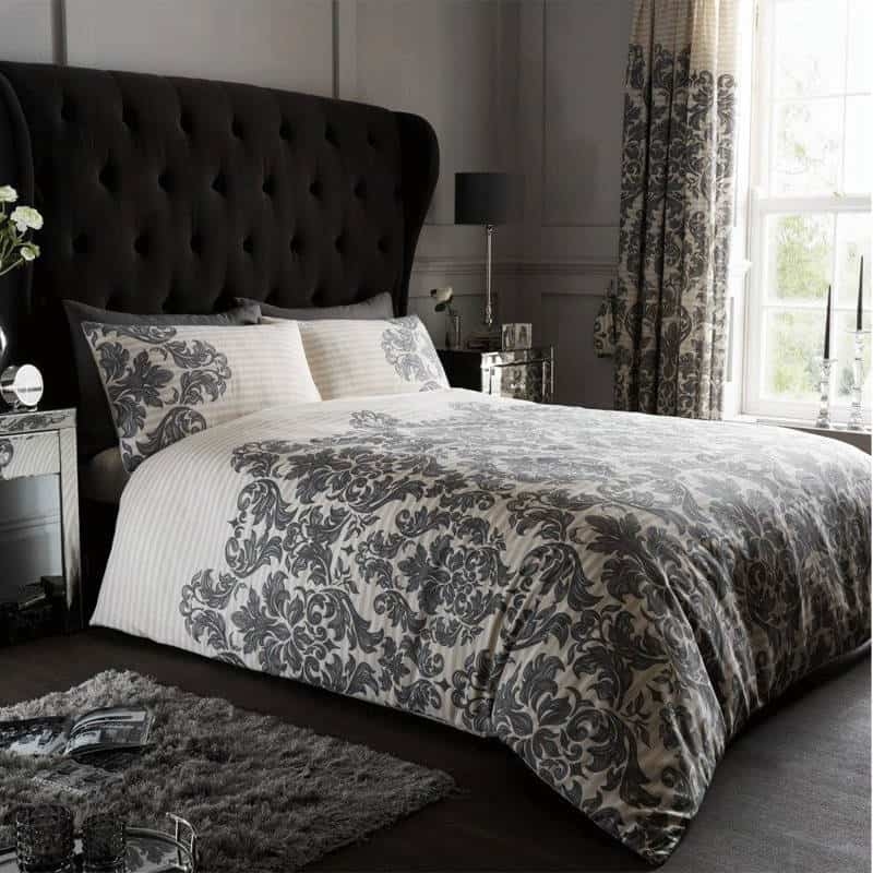Empire Damask Double Duvet Cover Jmd Online