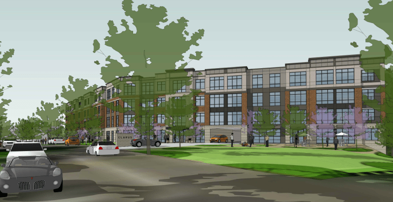 100+ new apartments approved for Glen Ridge's Baldwin St