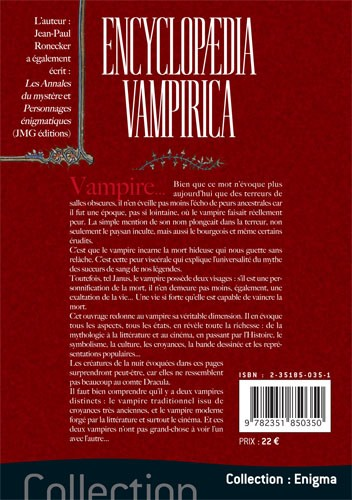 Encyclopedia Vampirica