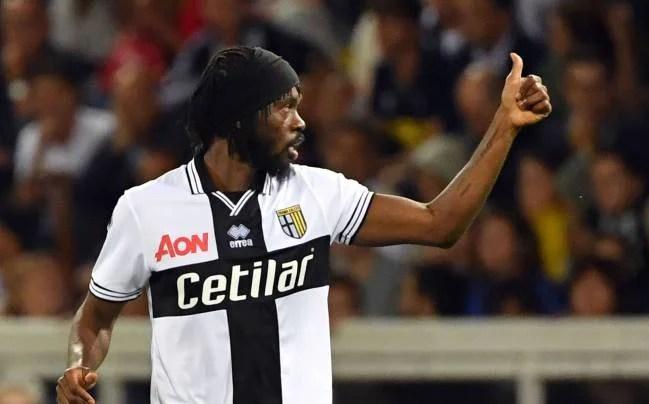Gervinho score goal in SERIE A for Parma against Ronaldo