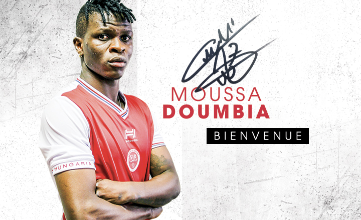 Moussa Doumbia jmg academy mali with REIMS FC