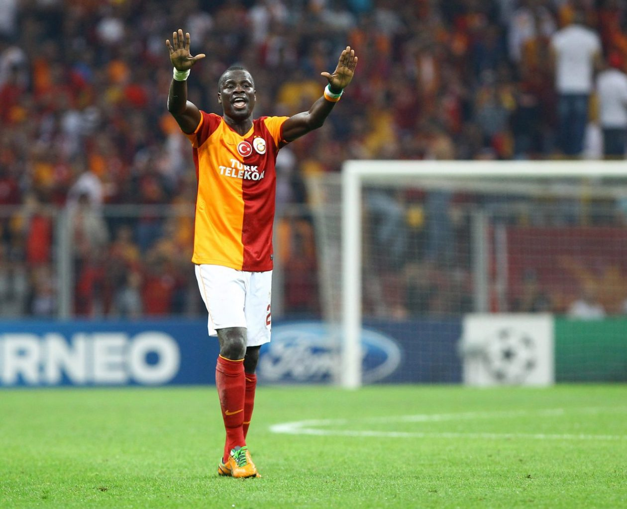 Emmanuel Eboué jmg management with arsenal