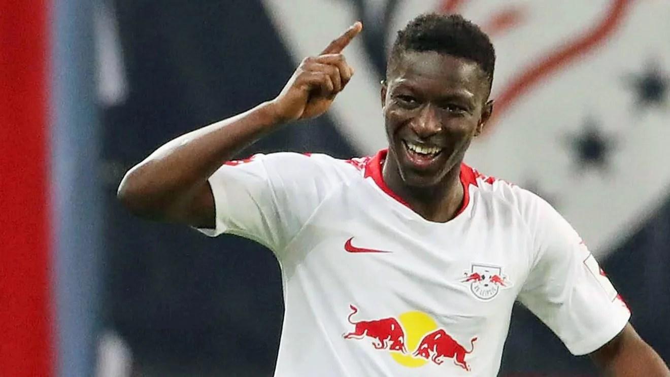 JMG soccer Amadou Haidara Leipzig