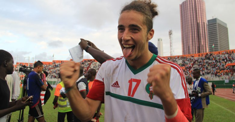 Sofian Kiyin algérian of JMG with Lazio