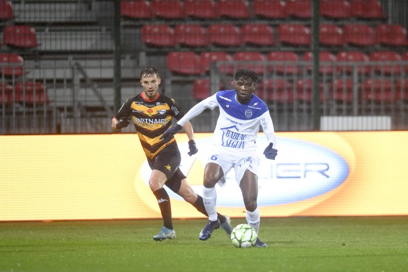 Troyes extend their loan of JMG academician Rominigue Kouamé from Lille