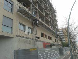Terminación edificio en estructura de 30 viviendas con planta sótano para aparcamientos. Barberà del Vallés (Barcelona)