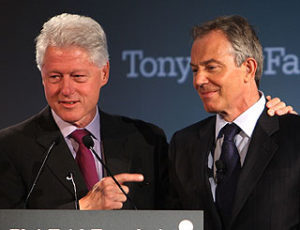 A former KGB general circulated forgeries intended to make people think that Bill Clinton and Tony Blair are paid agents of Kazakhstan's spy service.