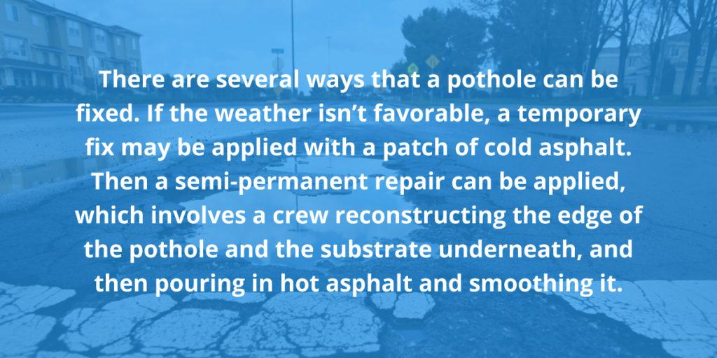Pothole Basics
