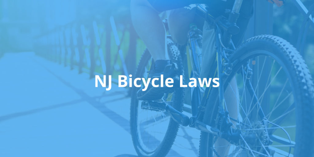 New Jersey Bicycle Laws