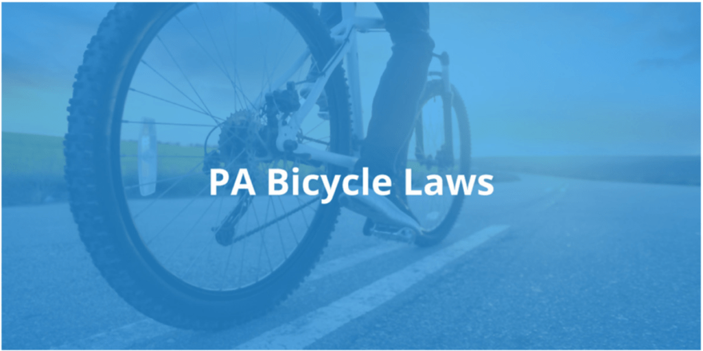 PA Bicycle Laws