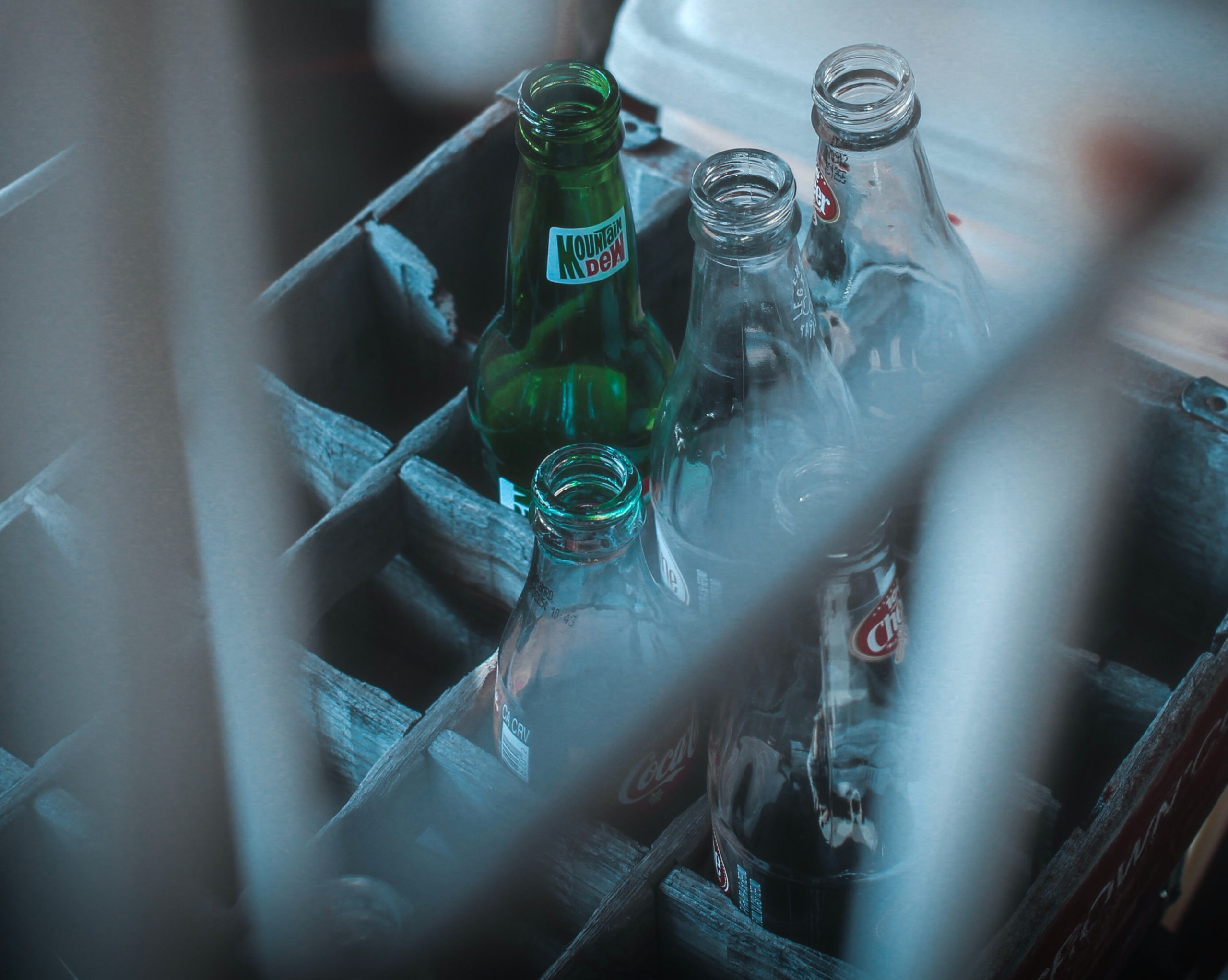 empty coldrink bottles