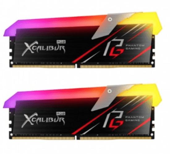 MODULO MEMORIA RAM DDR4 16GB (2X8G) PC3600 ASROCK XCALIBUR RGB