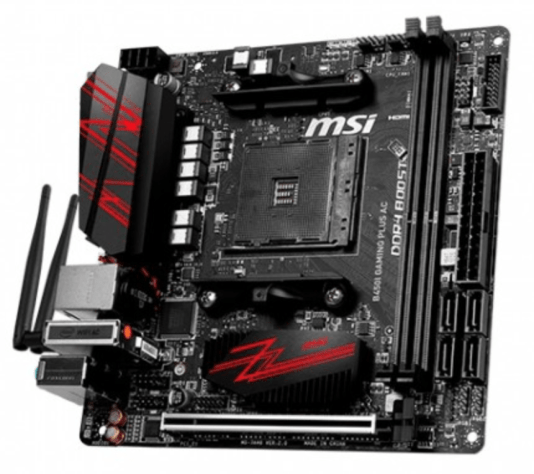 PLACA BASE MSI AM4 B450I GAMING PLUS AC