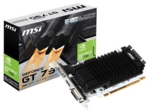 TARJETA GRÁFICA MSI GT 730K 2GB GDDR3