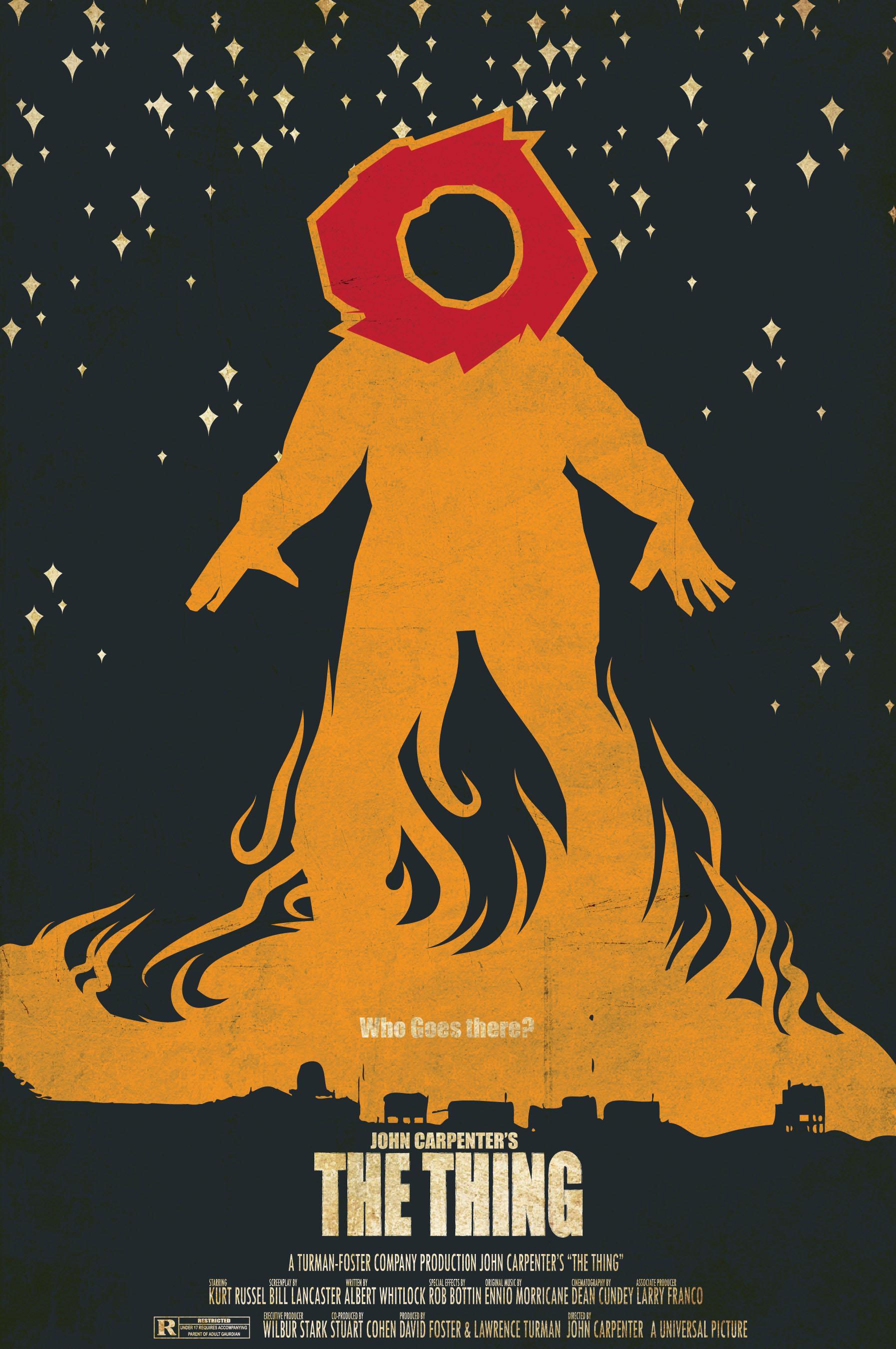 minimalist movie poster for john